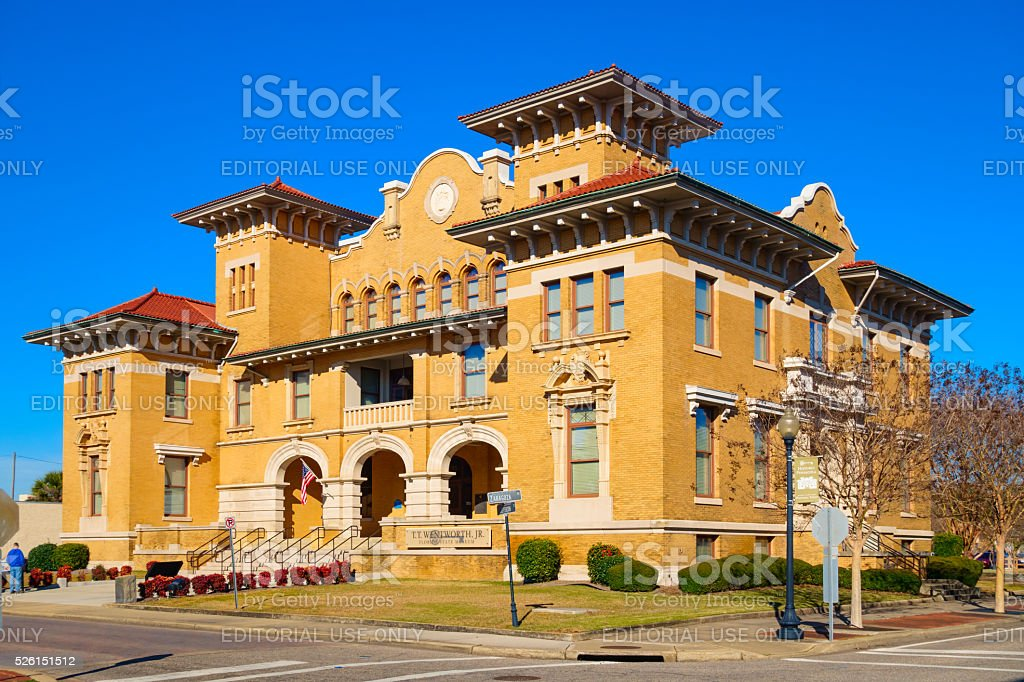 T. T. Wentworth Jr. Florida State Museum in Pensacola USA stock photo