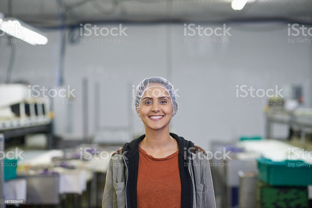 We're all about efficiency here stock photo