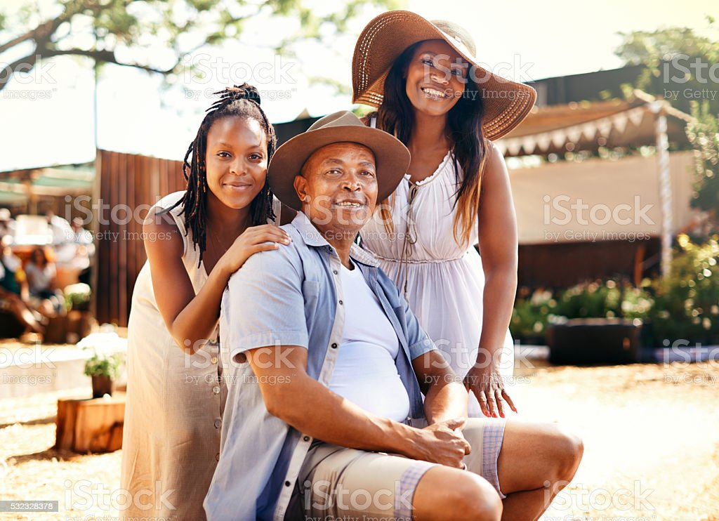 We're all about family stock photo