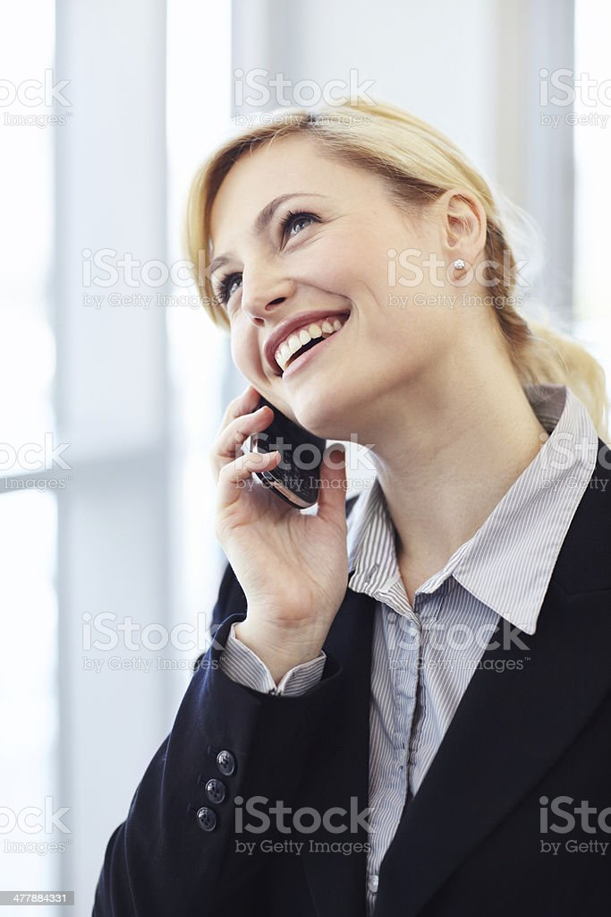 We're all very happy with the results! - Business Management royalty-free stock photo