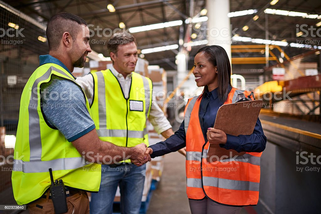 We're glad to have your experience on the warehouse flor stock photo
