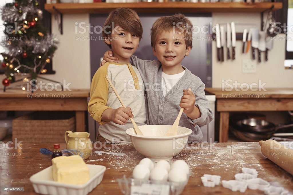 We're gonna own a bakery one day! stock photo
