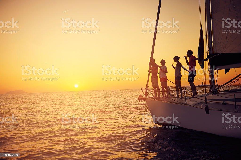 We're having yachts of fun stock photo