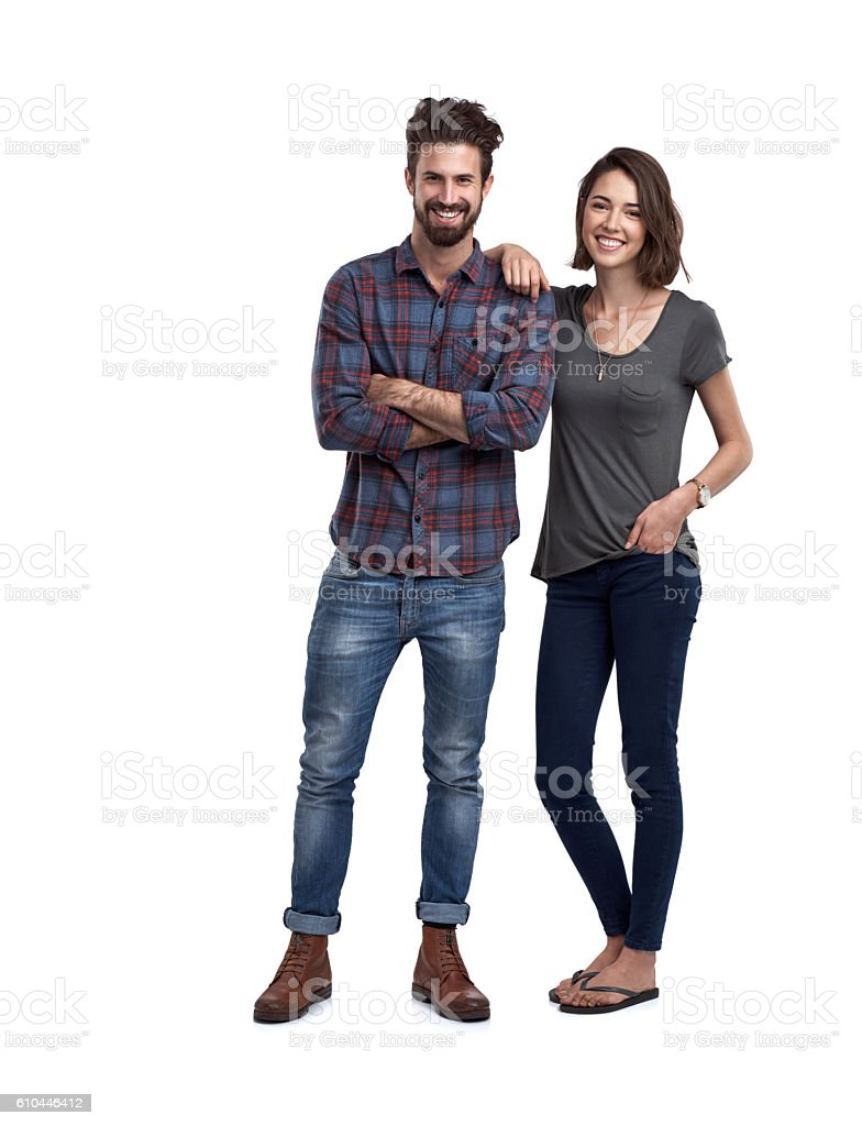 We're in love stock photo