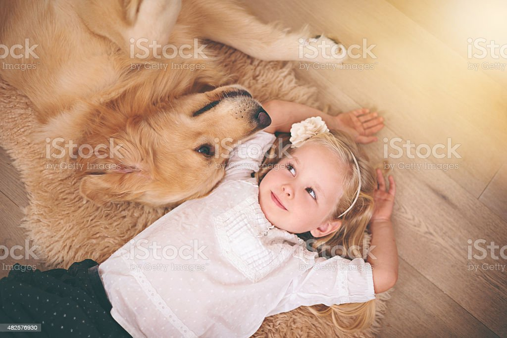 We're in this together, kid stock photo