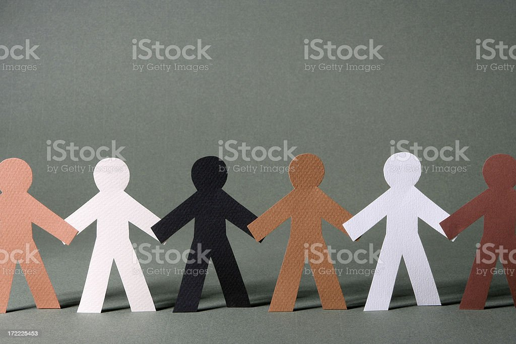 We're in this world together royalty-free stock photo