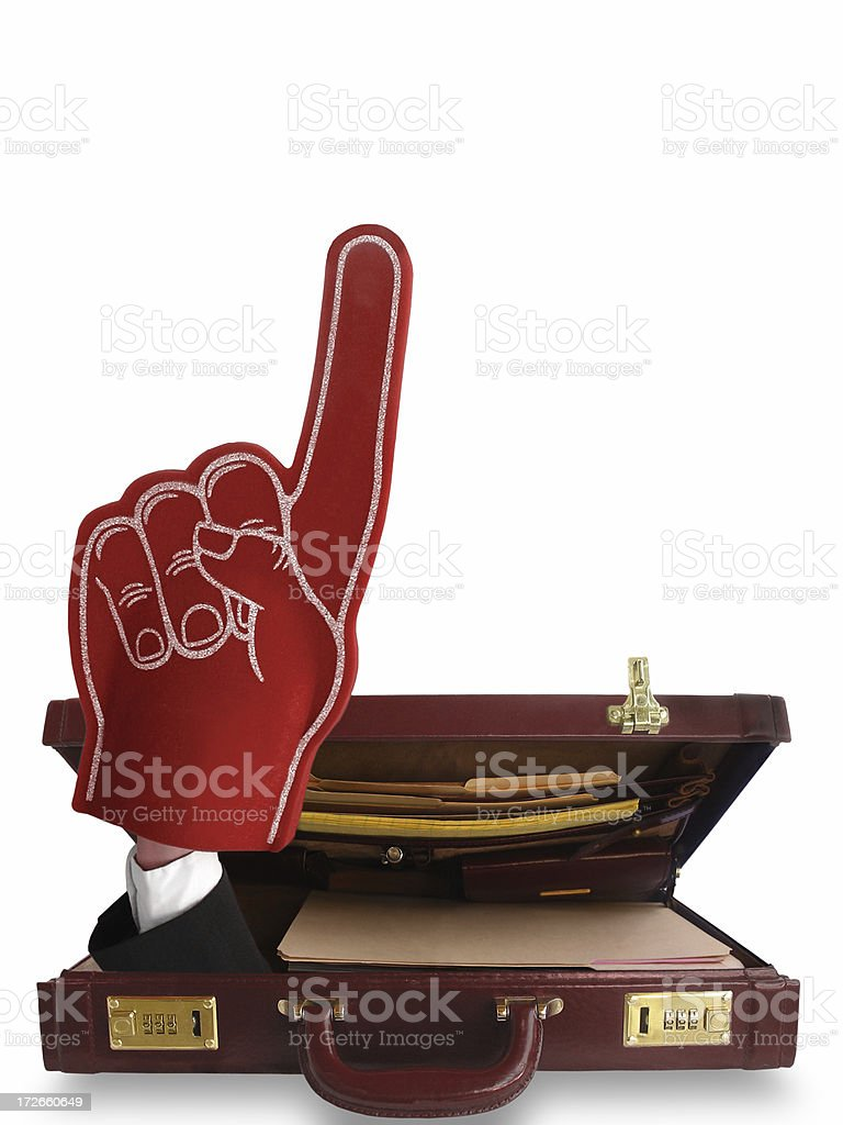 We're Number One!!! royalty-free stock photo