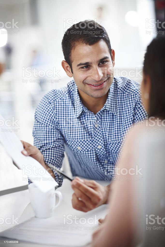 We're on the right track royalty-free stock photo