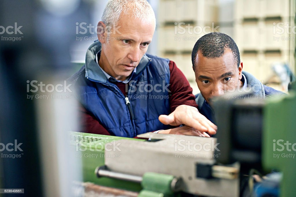 We're only as good as our equipment stock photo
