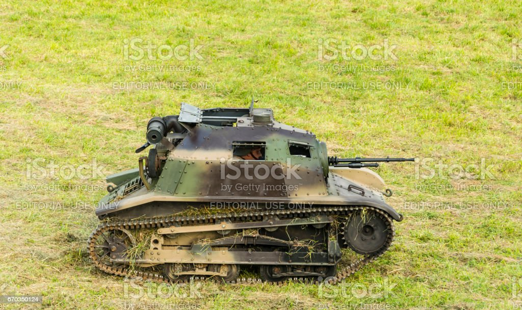 TKS were Polish tankettes during the Second World War. stock photo