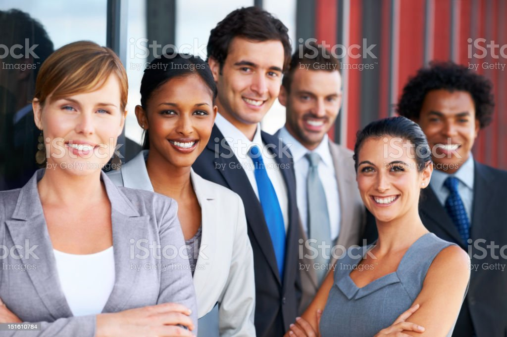 We're ready to succeed stock photo