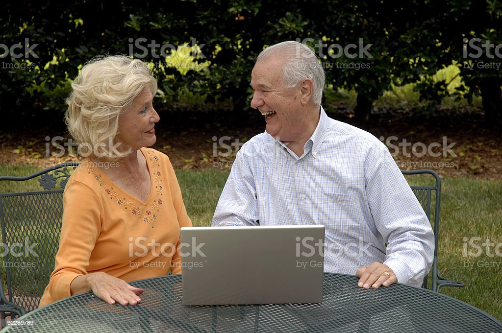 We're Surfing The Web royalty-free stock photo