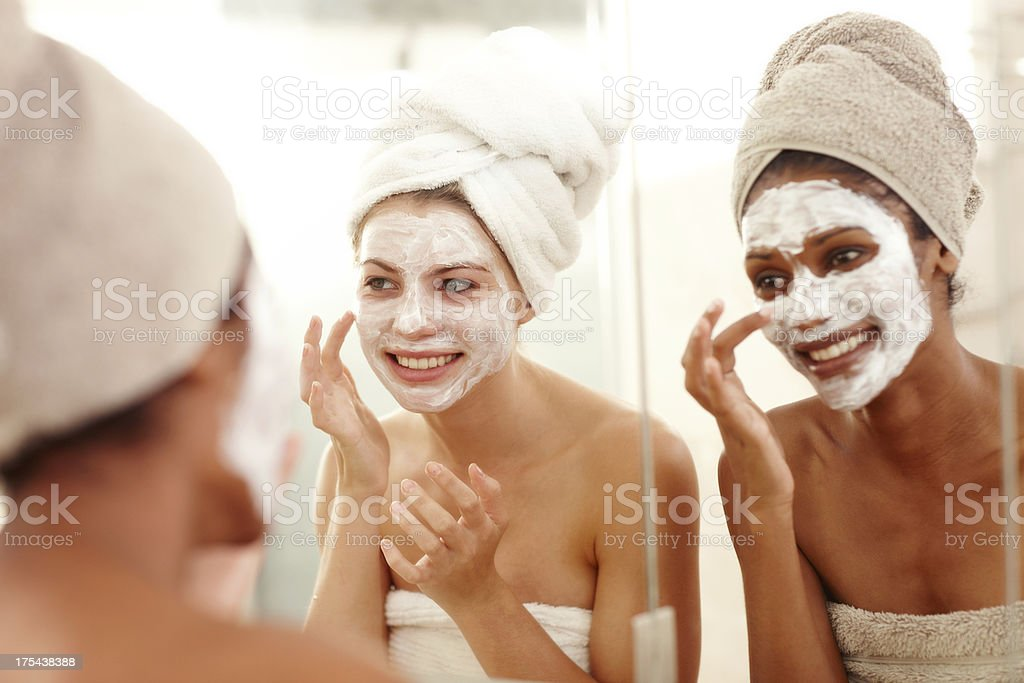 We're worth this pampering stock photo