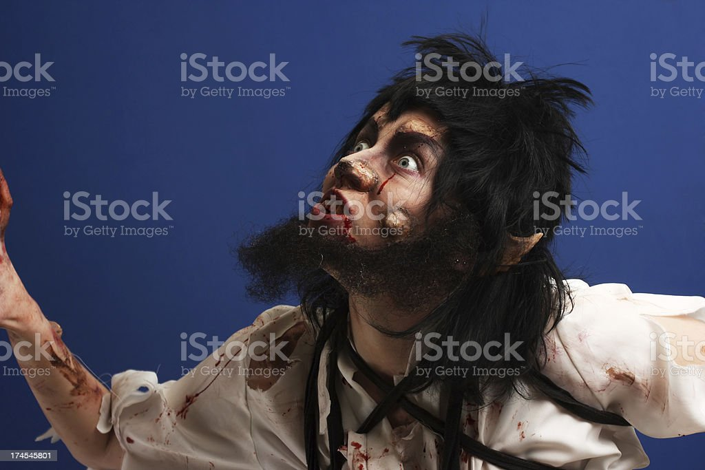 Werewolf royalty-free stock photo