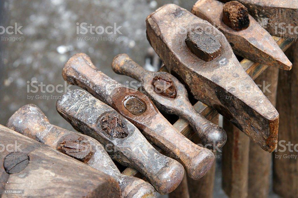 Werkzeug-Hammer stock photo