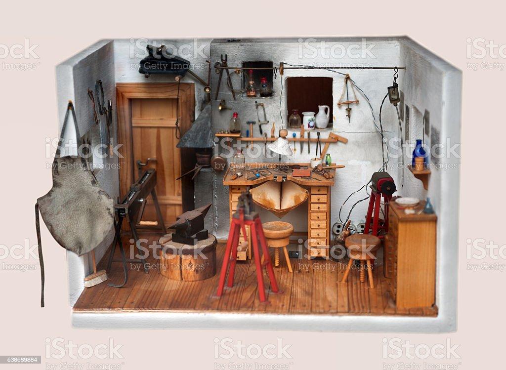 werkzeugmacherei stock photo