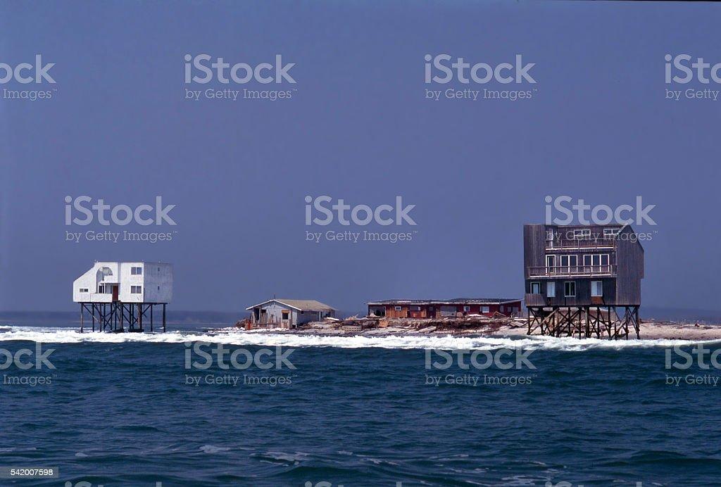 Weshampton Beach stock photo
