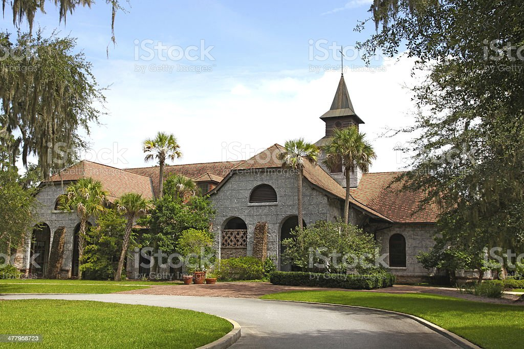 Wesley United Methodist Church stock photo