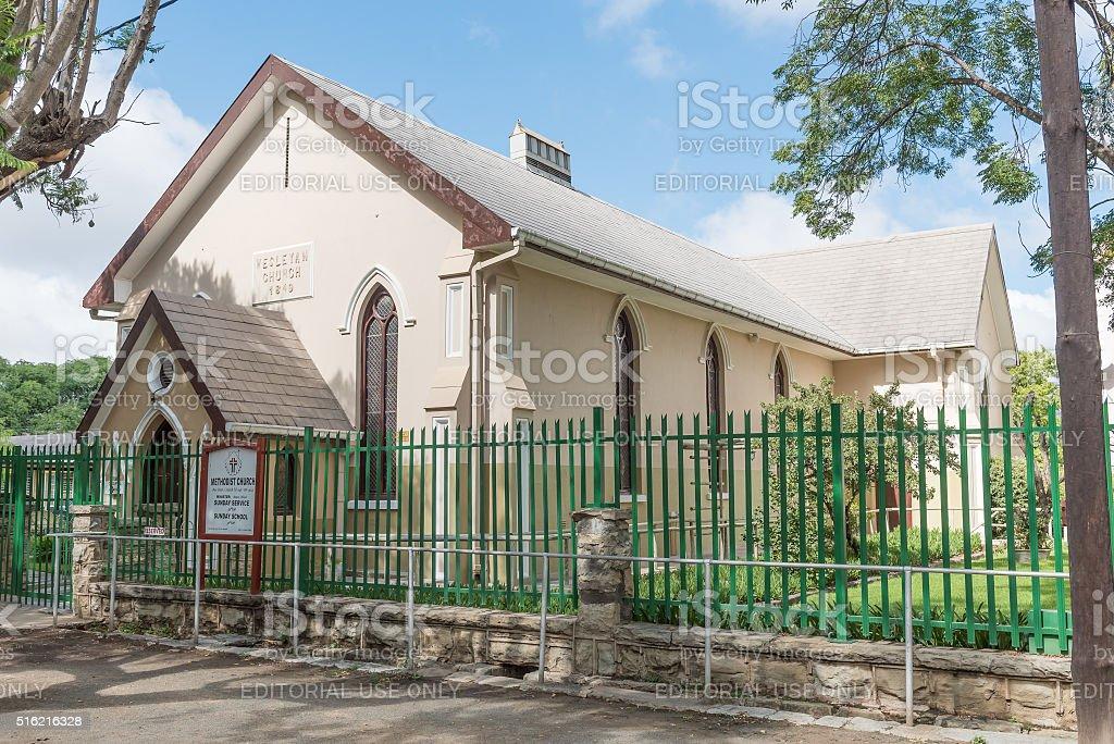 Wesleyan Methodist Church Cradock stock photo