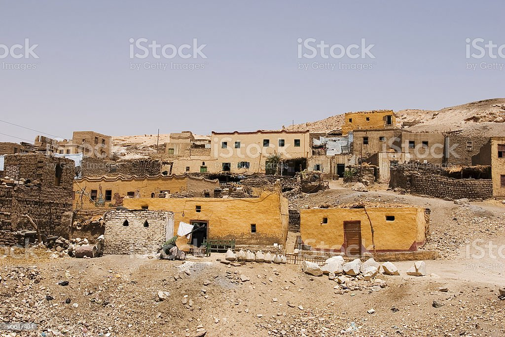 West Bank Houses stock photo