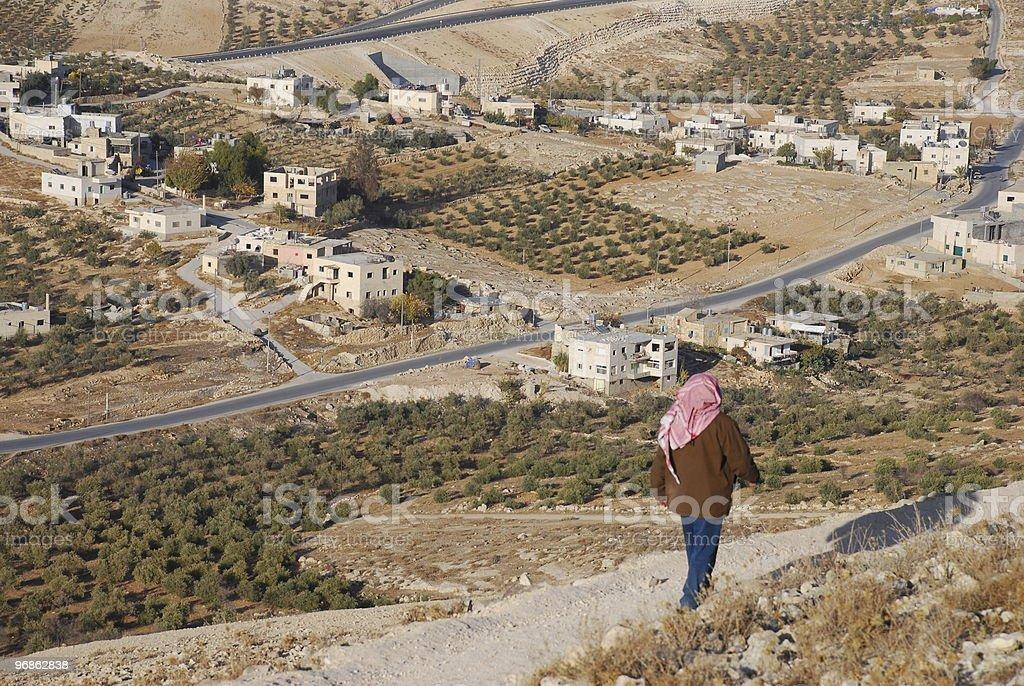 West Bank Village stock photo