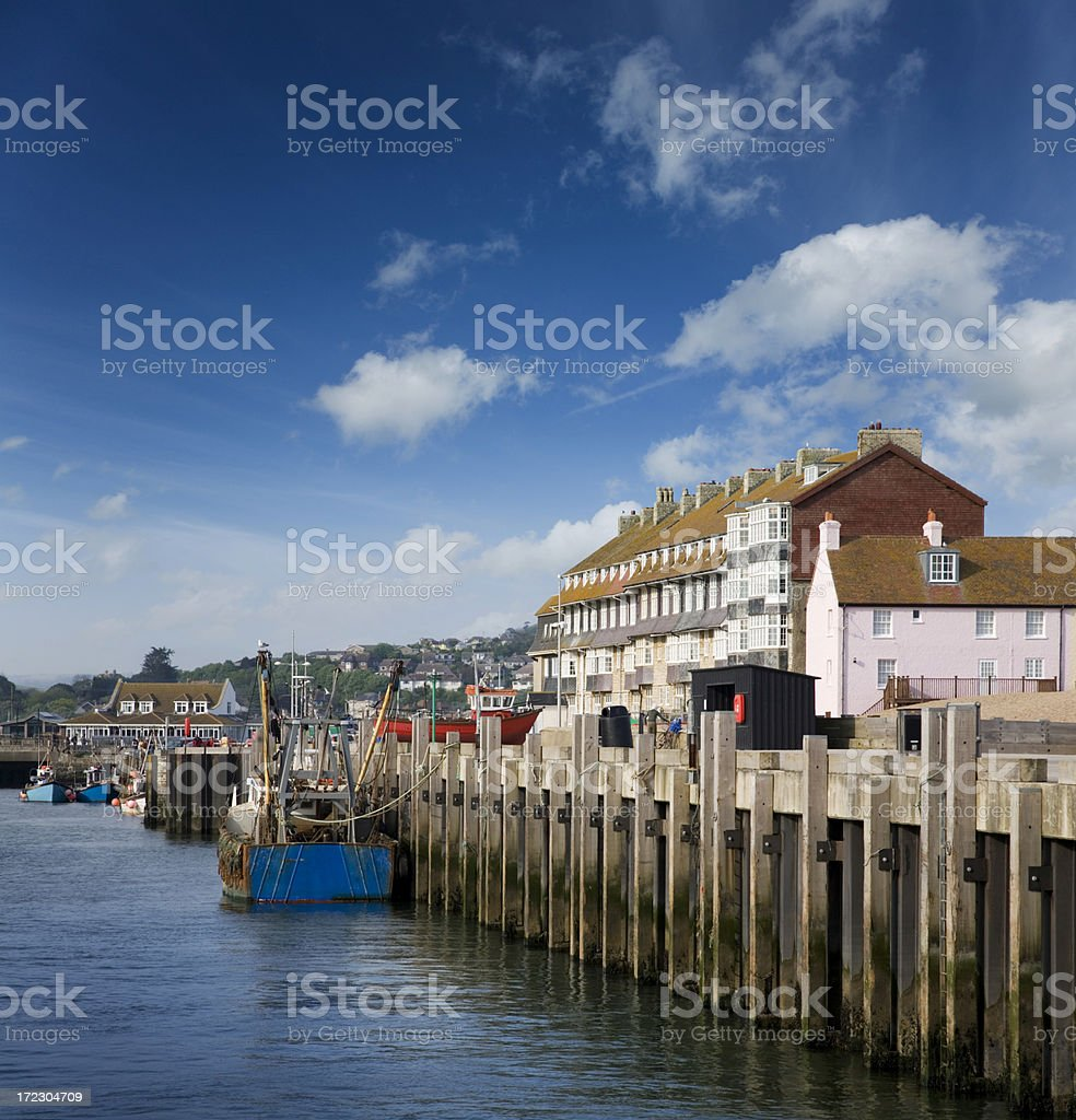 West Bay stock photo