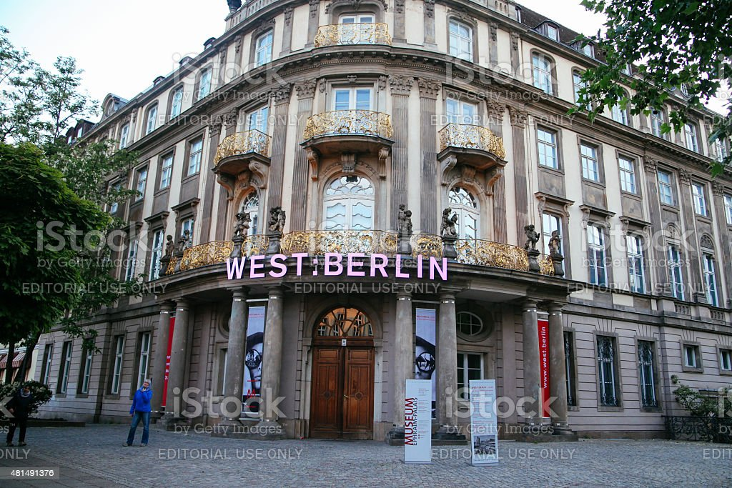 west berlin stock photo