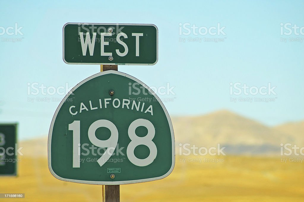 West California royalty-free stock photo