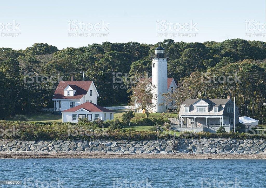 West Chop Lighthouse--Martha's Vineyard royalty-free stock photo