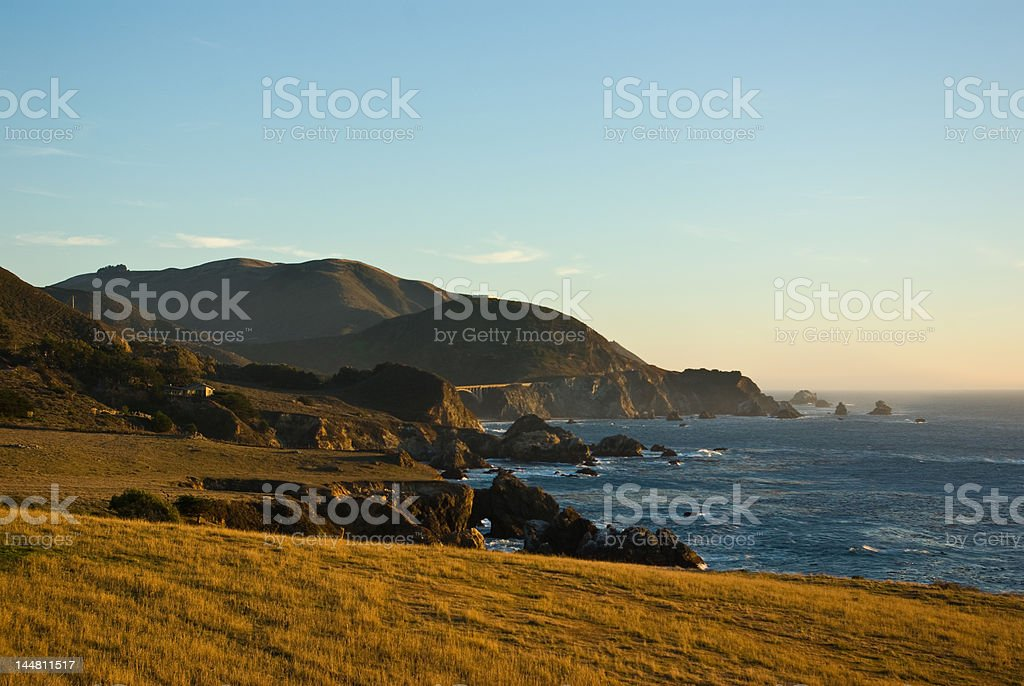 West coast califorania royalty-free stock photo