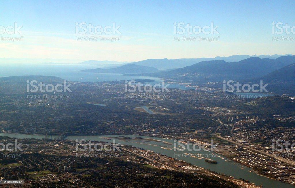 West Coast City stock photo