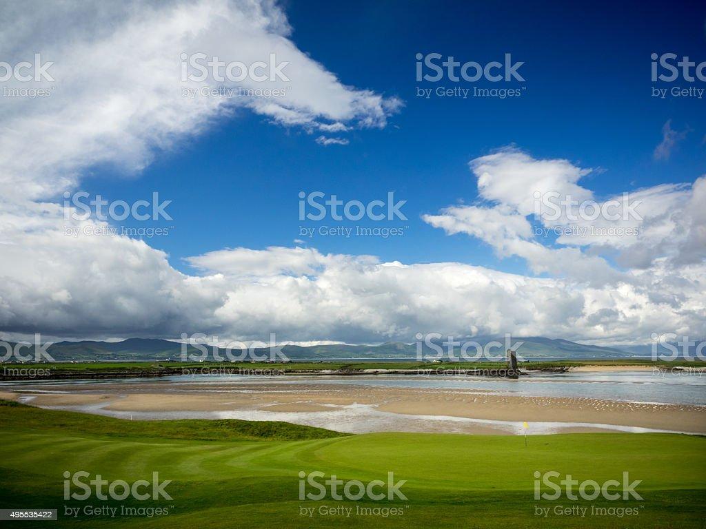 West coast of Ireland stock photo
