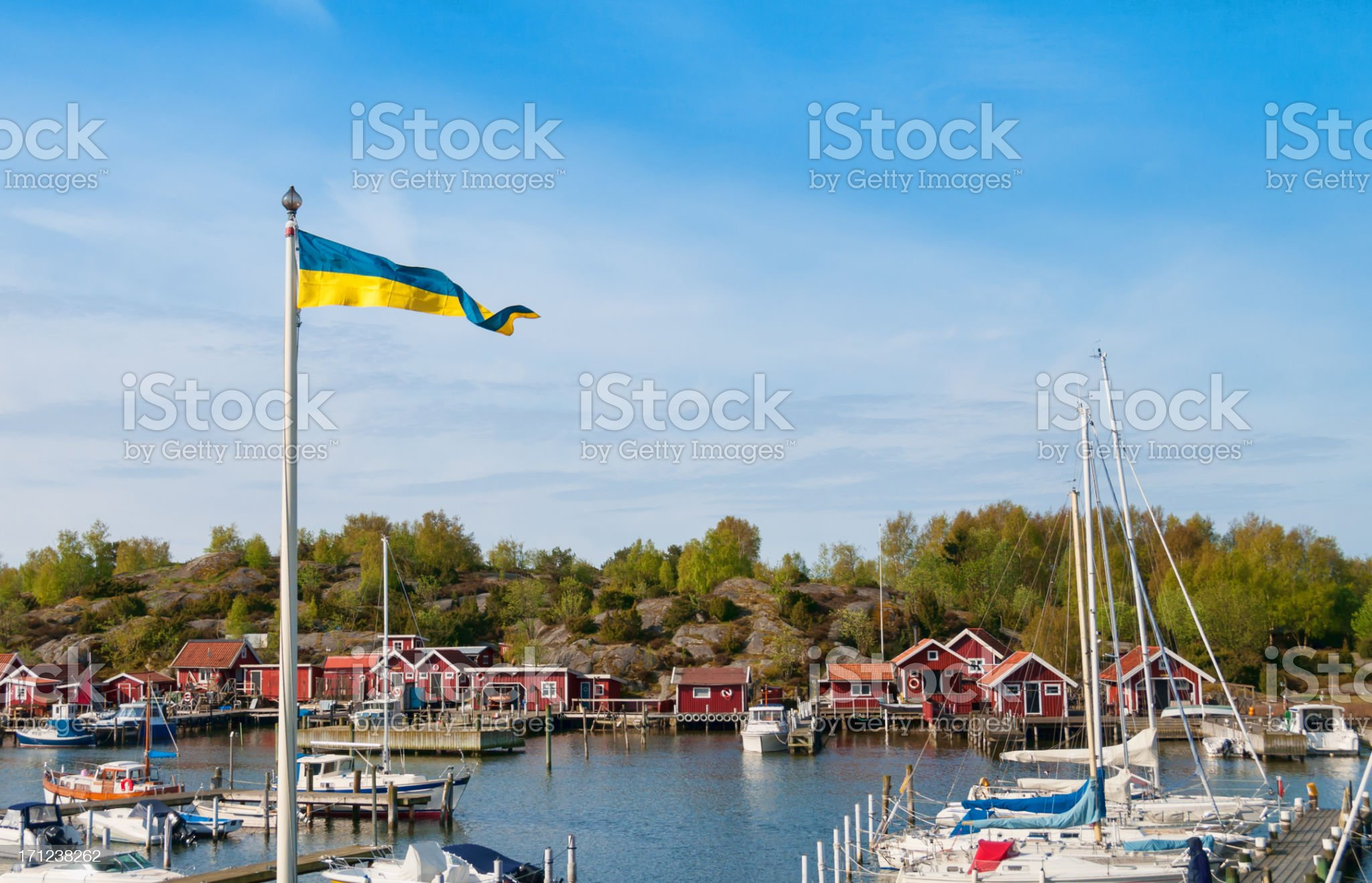 West coast of Sweden royalty-free stock photo