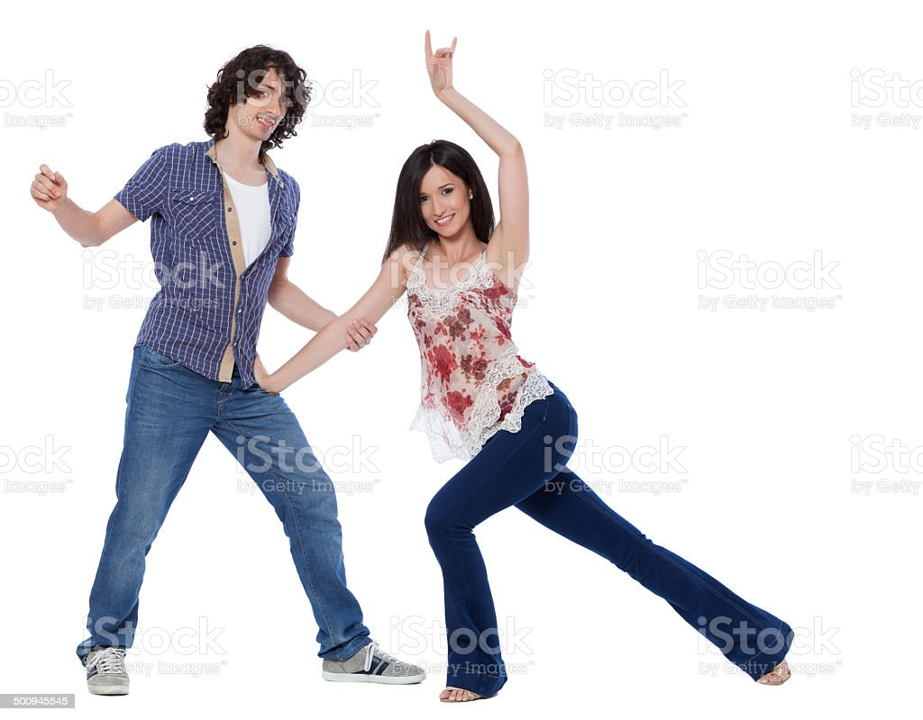 West Coast Swing Dance stock photo