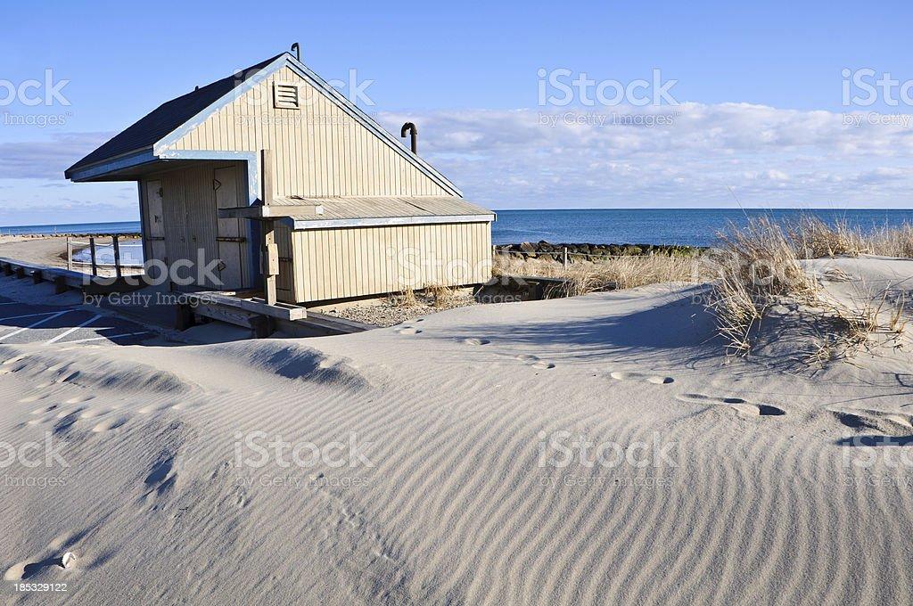West Dennis Beach stock photo