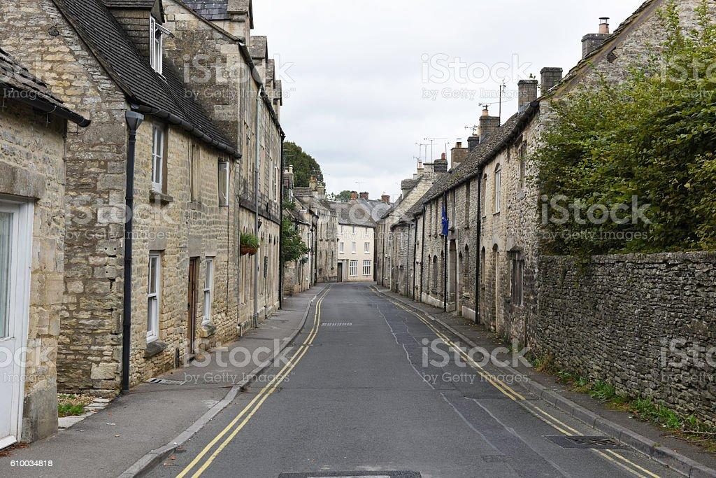 West End, Minchinhampton, Gloucestershire, UK stock photo