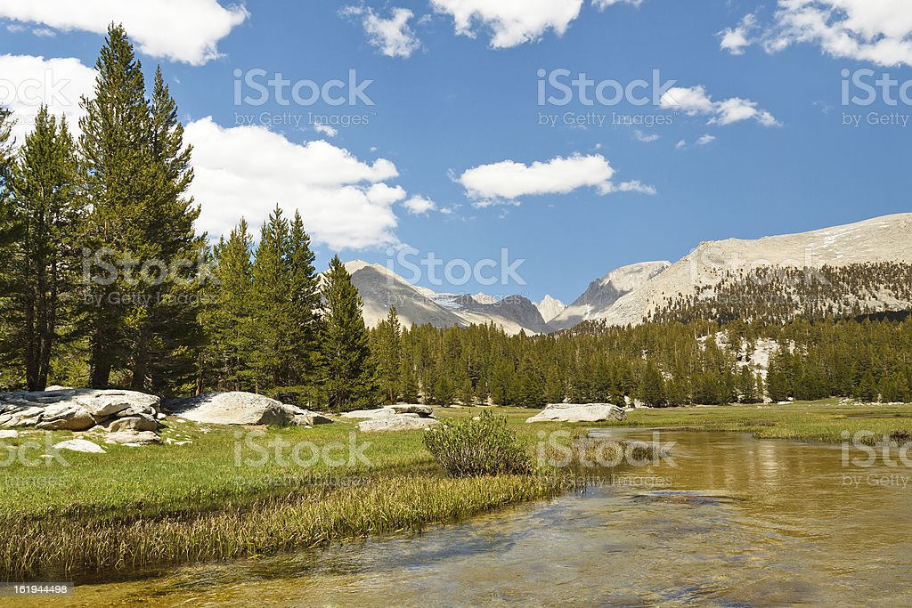 West Face of Mount Whitney royalty-free stock photo