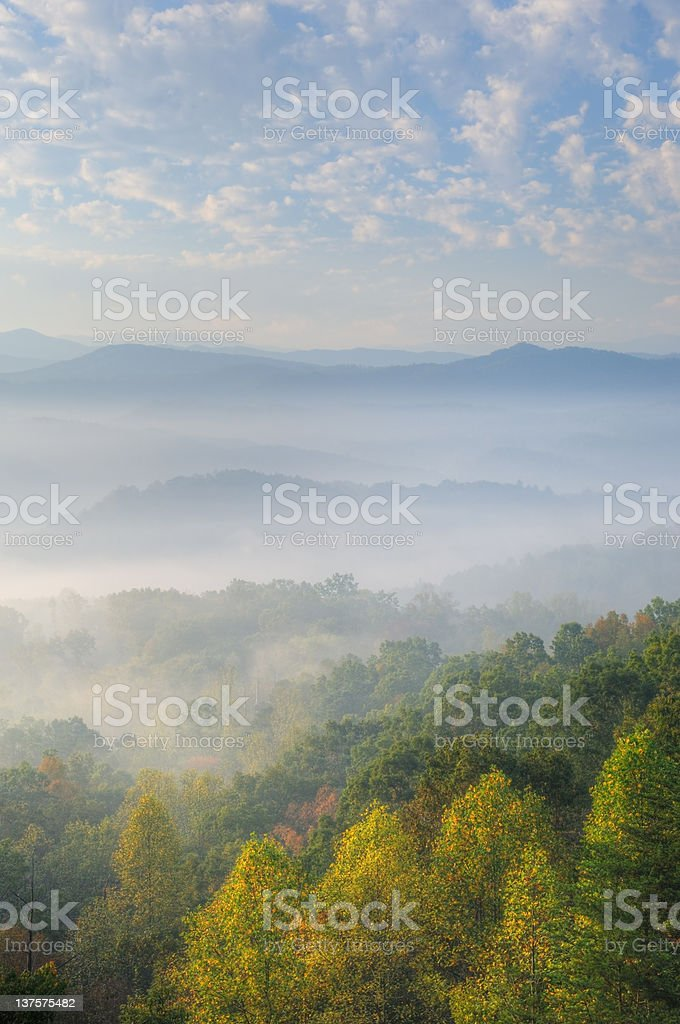 West Foothills Parkway stock photo