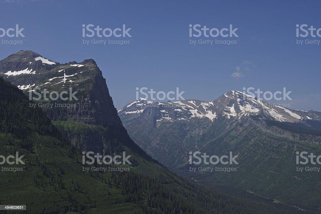 West Glacier Epic stock photo