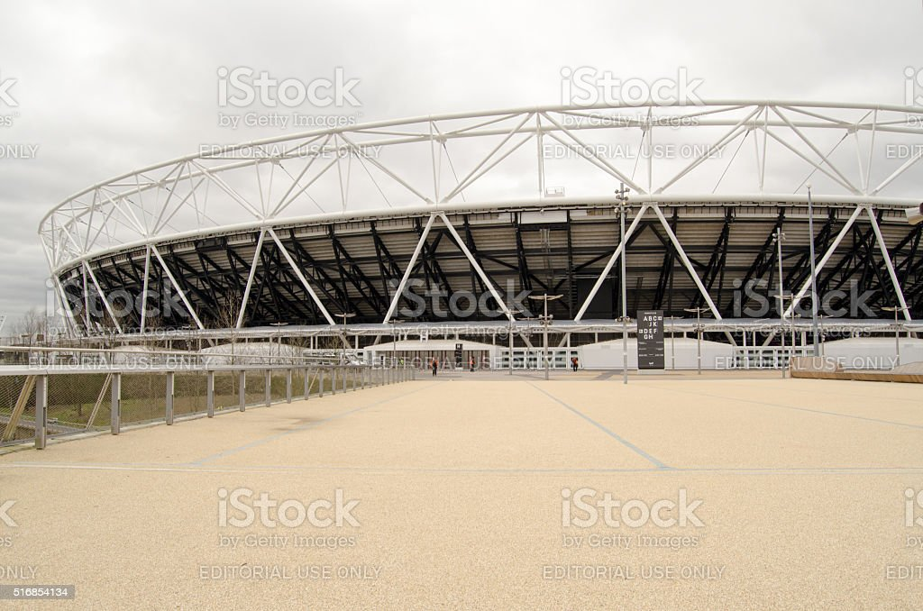 West Ham United New Stadium, Stratford stock photo
