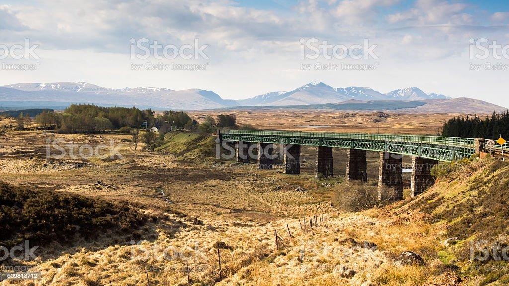 West Highland Railway stock photo