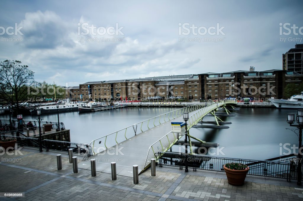 West India Quay, London stock photo