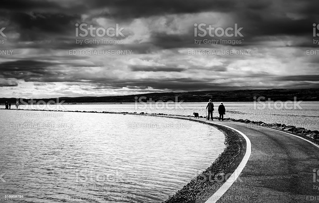 West Kirby, Merseyside stock photo