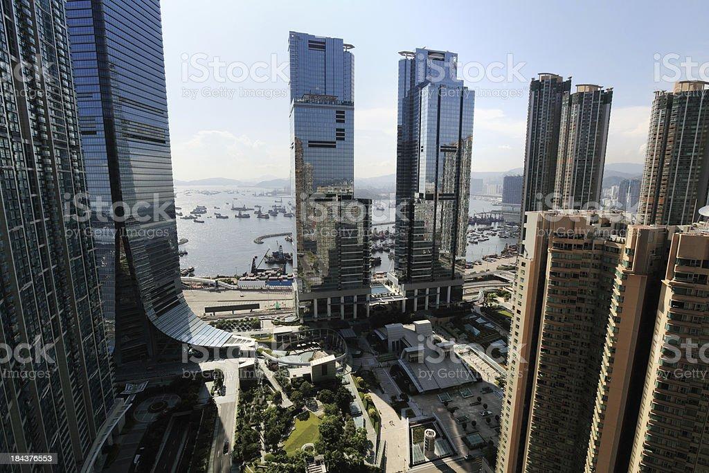 West Kowloon Hong Kong stock photo