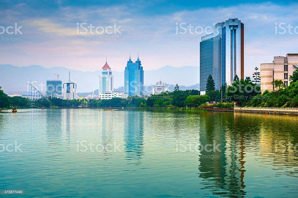 West Lake Fuzhou stock photo
