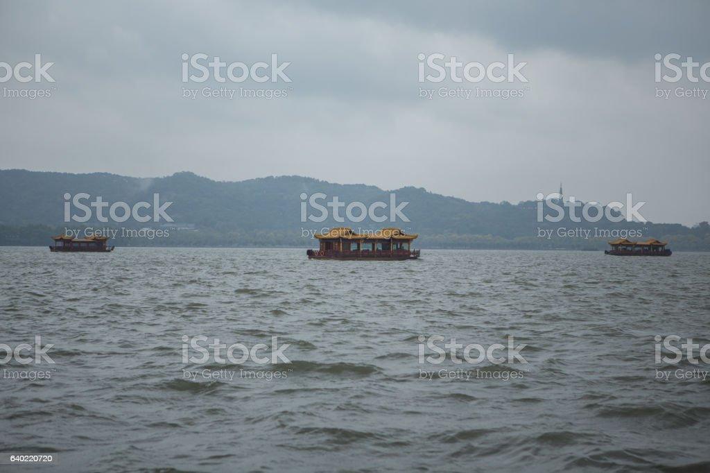 West lake, Hangzhou, China stock photo