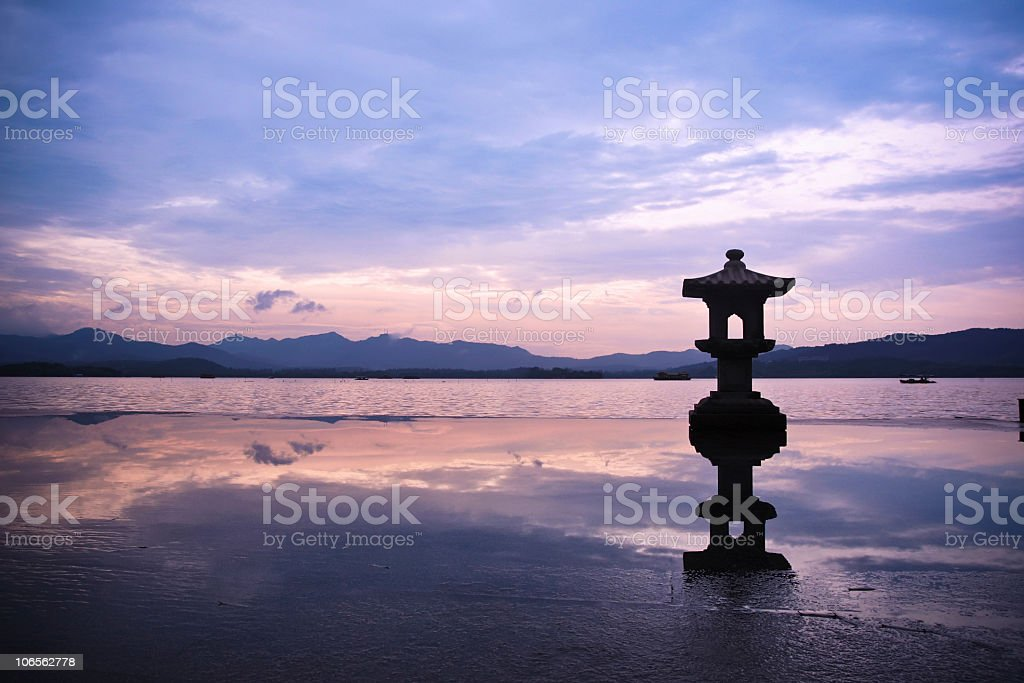west lake in china royalty-free stock photo