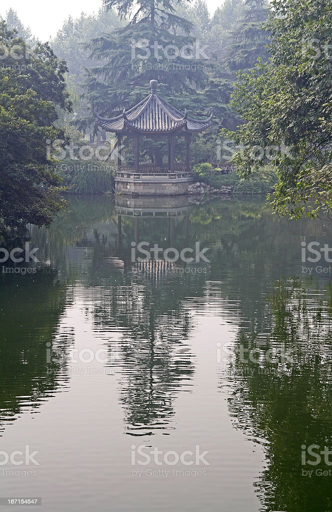 West Lake in Hangzhou royalty-free stock photo