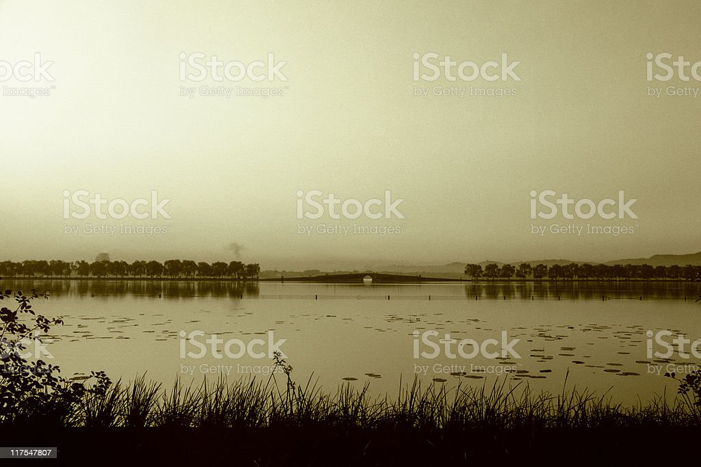West Lake stock photo