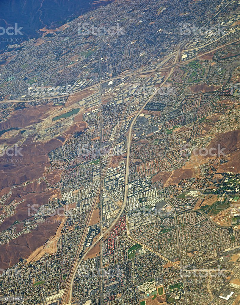West Los Angeles Basin royalty-free stock photo